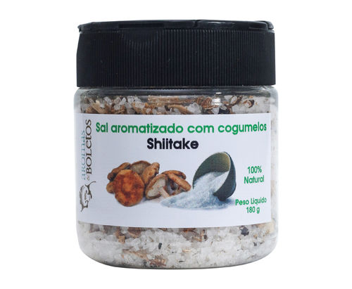 salt with shiitake