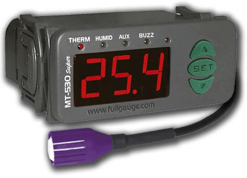 Controlador de temperatura e humidade MT-532
